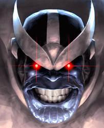 Thanos Close-up by AlexGarner