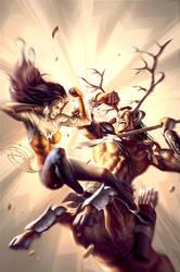 Wonder Woman No. 606 by AlexGarner