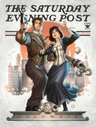 Bioshock Infinite by AlexGarner