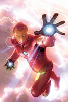 Invincible Iron Man #2 by AlexGarner