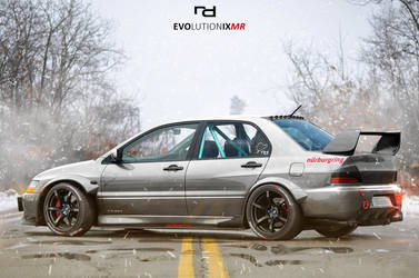 EVO IX MR Nurburgring Edition by Rob3rT----Design