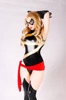 Oh, Carol! (Ms. Marvel cosplay) by Kitty-Honey