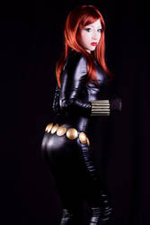 Black Widow Cosplay 01 by Kitty-Honey