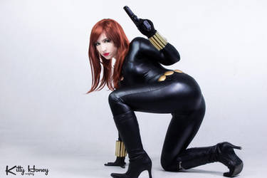Black Widow Cosplay by Kitty-Honey
