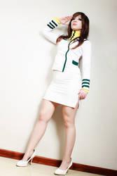Misa Hayase/Lisa Hayes Cosplay (Macross/Robotech) by Kitty-Honey