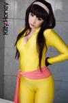 Sayaka Yumi Cosplay by Kitty-Honey