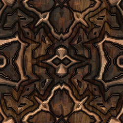 Seamless Carved Wood 2 by Jade-Dragen