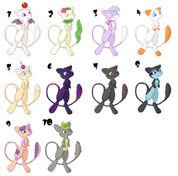 Mews for Adoption (open) by taruto