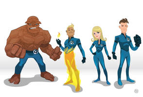 Fantastic Four - Torch Variant by GaboMelo