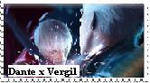 Dante x Vergil Stamp by DarthRevanShepard