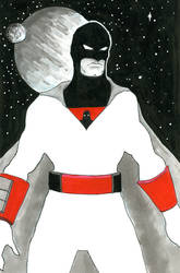 Space Ghost by shockwerks