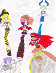 Animates and the Boss Lady by Sakura-Chirari