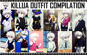Killua Outfit Compilation by zyecho