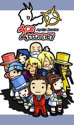 Chibi Attorney:Apollo Justice by Cessa