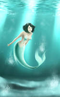 Aquamarine by lacelazier