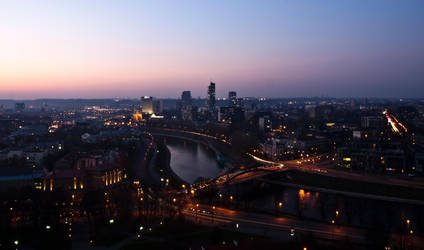 Vilnius by Dkersys
