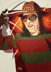 Freddy Krueger by metalsan