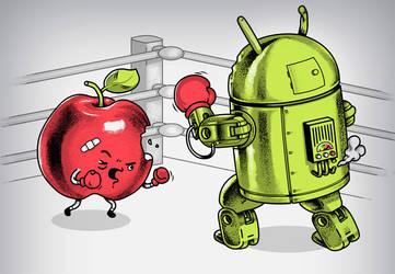 Fruit Vs. Robot by metalsan
