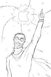 Steve Pierced The Heavens by Axeraider70
