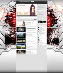 DJ Jester Youtube Background by Axeraider70