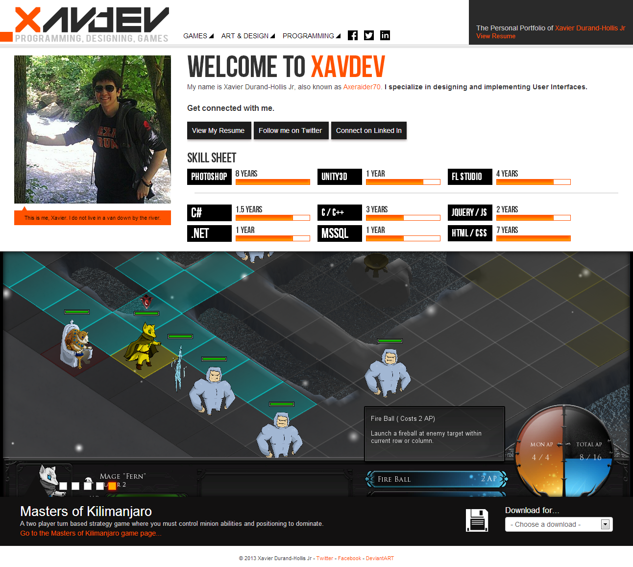 XavDEV Version 1.1 by Axeraider70