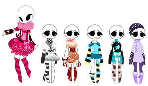 SP Leftover Adopts (2/6 OPEN) by ImaginationTrap