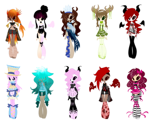 SP Character Adopts (1/10 OPEN) by ImaginationTrap