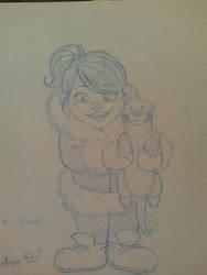 Eskimo Girl by Gigatoast