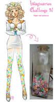 DAC - paper star princess by kiikii-sempai