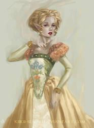 commission. Cecily by kiikii-sempai