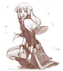 princess zelda by kiikii-sempai