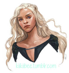 Commission. Daenerys by kiikii-sempai
