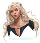 Commission. Daenerys by kiikii-sempai