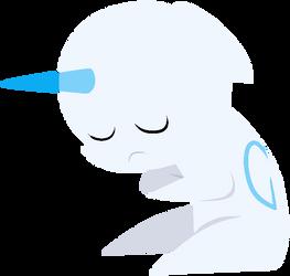 Sad Point Pony Base by FluttersBases