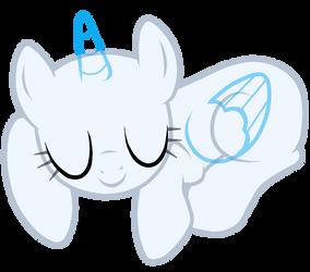 Another Sleepy Pony Base by FluttersBases
