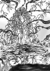 Andrea Illustr b-n by Ernestgirl