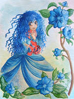 Roselyn ...Blu XD by Ernestgirl