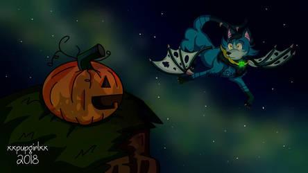 Axel's Pumpkin! by KawaiiPaws24