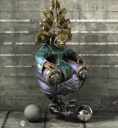 Halo Wars : Prophet of Regret4 by ShaunAbsher
