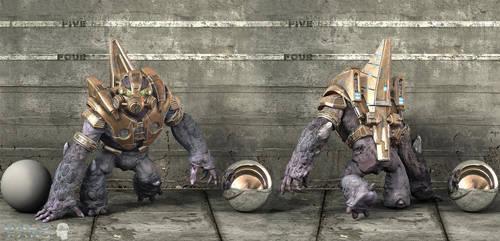 Halo Wars : Grunt1 by ShaunAbsher