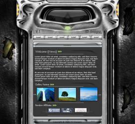 Homepage Concept by DemonDan666