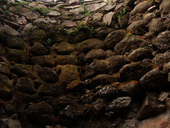 Stone_wall4 by Manwathiell-Stock