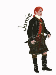 Jamie Fraser by nmarquez72