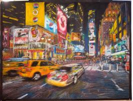 Times Square by jkwonman