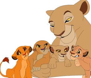 Nala's Daughters by LittleTurtle03