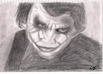 Joker, The Dark Knight by llwmrll