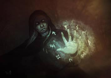Witch runes by Silvana-Massa-Art