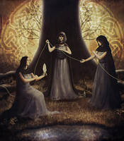 The Norns by Silvana-Massa-Art