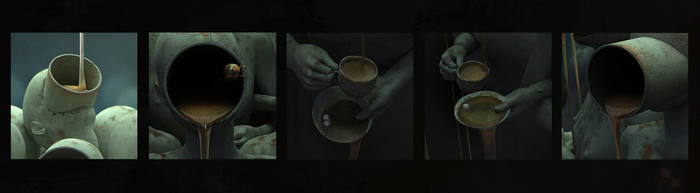 coffee-break_(Chained freedom)_fragments by AndreyBobir