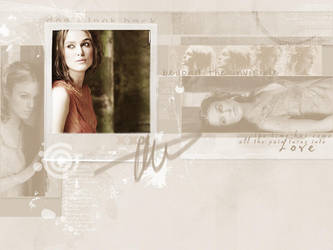 Keira Knightley by Hoeshle
